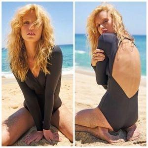 Volcom Simply Seam Bodysuit Swimsuit Rashguard